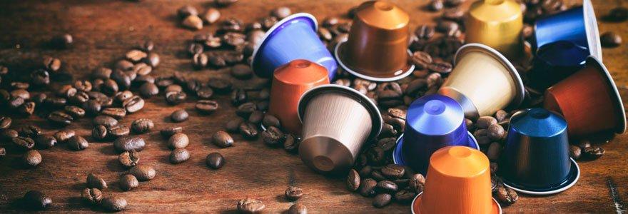 Achat de capsules de café