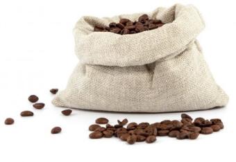 Graines de cafe non torrefiees